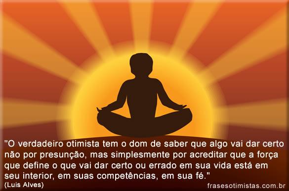 mensagem de otimismo No Trabalho para meditação