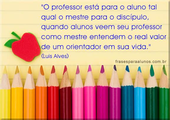 Ensino Fundamental I: Mensagens Para Professores Do Ensino