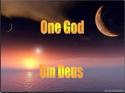 Mensagem De Motivação Para Evangélicos Um Só Deus