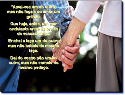Mensagem de Motivação Para casal - amai-vos um ao outro