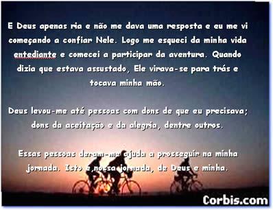 Vida    Um Peio De Bicicleta  Um Poder Superior Chamado Amizade