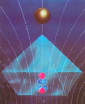 radiacao cosmica piramide