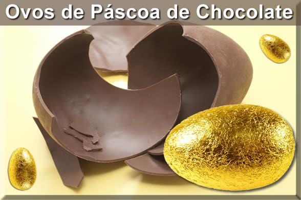 como surgiu o ovo de páscoa de chocolate