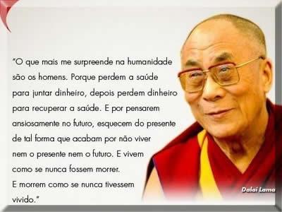 mensagens de Dalai Lama
