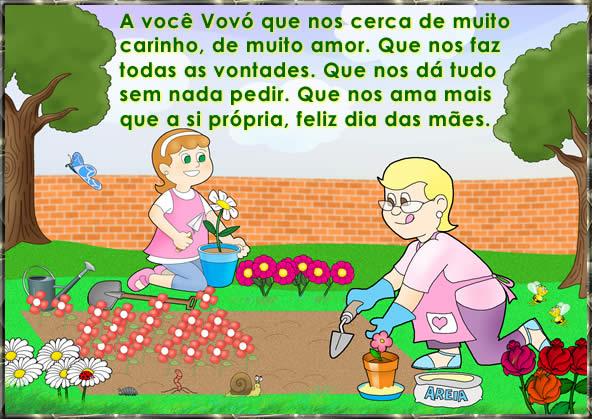 Mensagem De Feliz Dia Das Mães Para Avó Homenagem