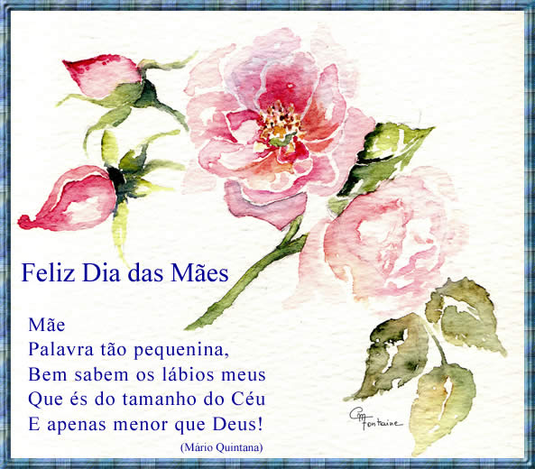 Cartão Para O Dia Das Mães Para Imprimir