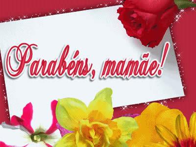 Feliz Aniversário Para Mãe da Rosa