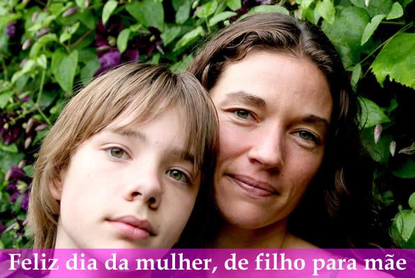 Mensagem De Filho Para Mãe Feliz Dia Da Mulher