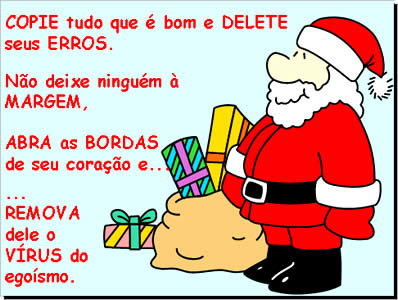 Slide Power Point com sobre o Natal e Ano Novo