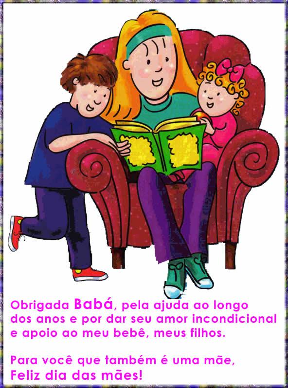 Homenagem Para Babá No Dia Das Mães De Mãe Para Babá