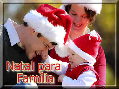Mensagens de natal para familia