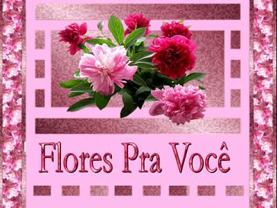 flores para o dia das mães, slides com flores virtuais