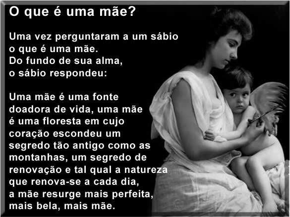 o que é ser mãe o que é maternidade