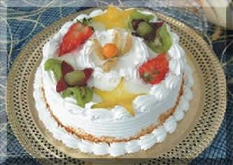 receita de bolo para natal, bolo de frutas para natal